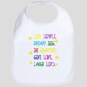 Live Simple 2 Bib