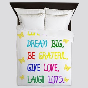 Live Simple 2 Queen Duvet