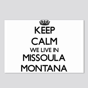 Keep calm we live in Miss Postcards (Package of 8)