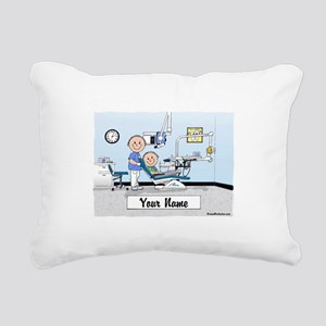 Dentist, Male Rectangular Canvas Pillow