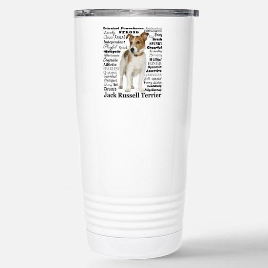 Jack Russell Traits Travel Mug