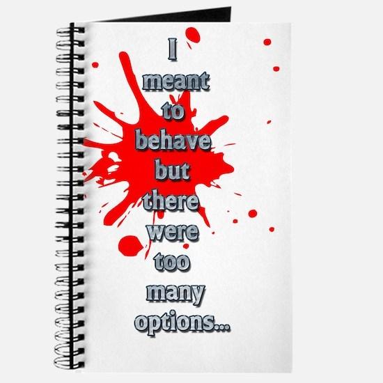 Behave Journal