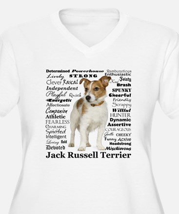 Jack Russell Traits Plus Size T-Shirt