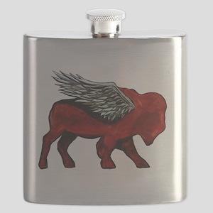 Buffalo Wings Flask