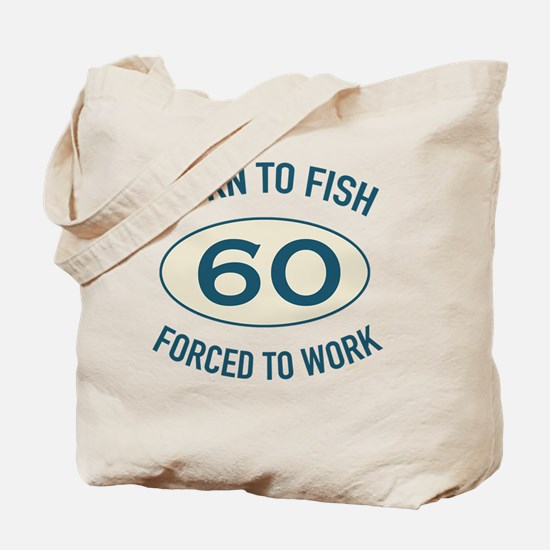 60th Birthday Fishing Tote Bag