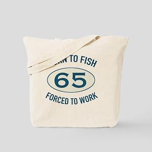 65th Birthday Fishing Tote Bag