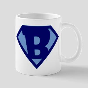 Super Hero Letter B Mug