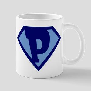 Super Hero Letter P Mug