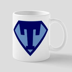 Super Hero Letter T Mug
