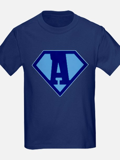 Super Hero Letter A T-Shirt