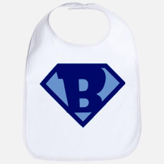 Super Hero Letter B Bib