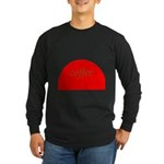 Red Brown Coffee Long Sleeve T-Shirt