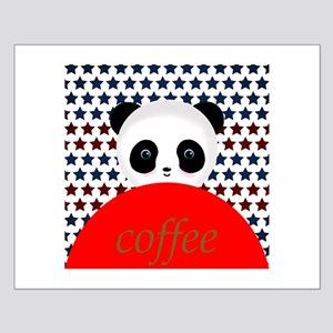 Coffee Panda Bear Posters