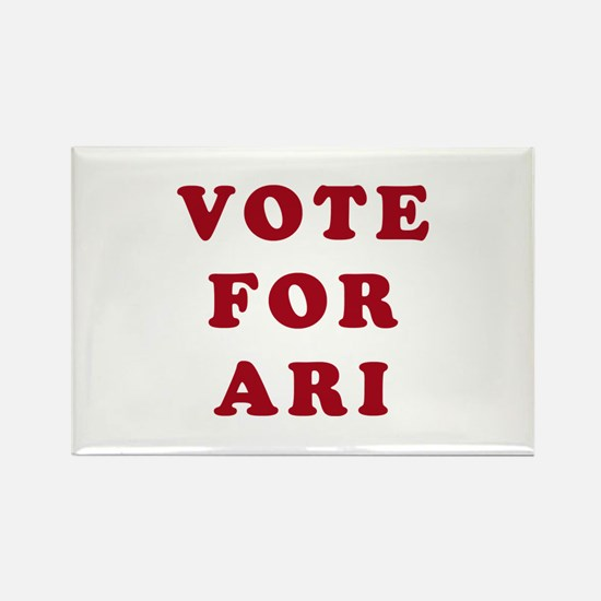 Vote for Ari - Entourage Rectangle Magnet