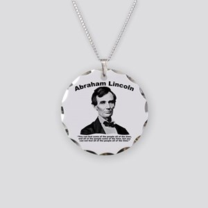 Lincoln: Truth Necklace Circle Charm