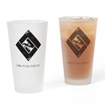 Lock 'n Load Logo Drinking Glass