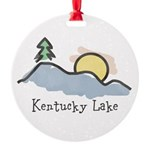 Lake Sunset Ornament