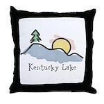 Lake Sunset Throw Pillow
