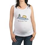 Lake Sunset Maternity Tank Top