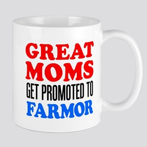 Promoted To Farmor Drinkware Mugs
