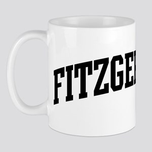 FITZGERALD (curve-black) Mug