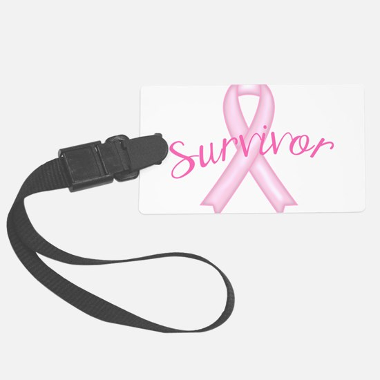 Breast Cancer Awareness Survivor Luggage Tag
