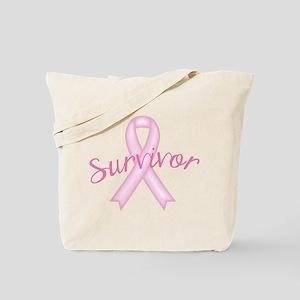 Breast Cancer Awareness Survivor Tote Bag