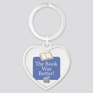 Book was better - Heart Keychain