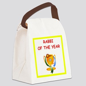 rabbi Canvas Lunch Bag