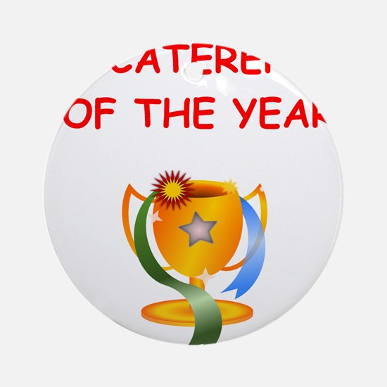 caterer Ornament (Round)