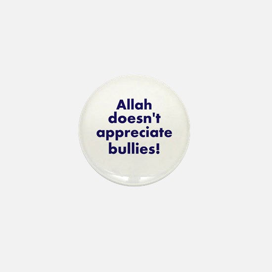 Allah is Sure About This Mini Button