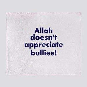 Allah is Sure About This Throw Blanket