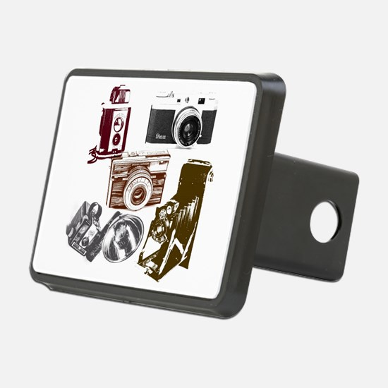 Modern photographer vintag Hitch Cover