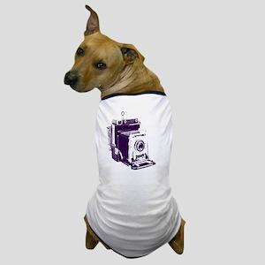 retro photographer vintage camera Dog T-Shirt
