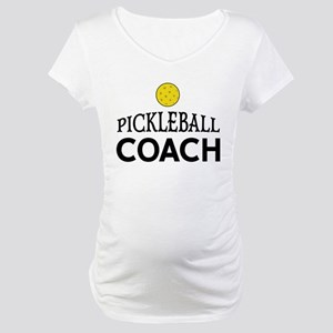 Pickleball Coach Maternity T-Shirt