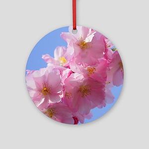 CherryBlossom_2015_0103 Ornament (Round)