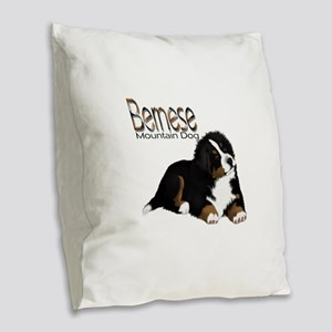 MadDog PupT Burlap Throw Pillow