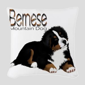 MadDog PupT Woven Throw Pillow