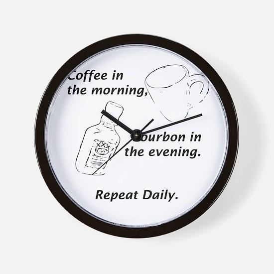 Daily Prescription Wall Clock