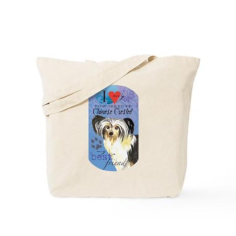 Powderpuff Tote Bag