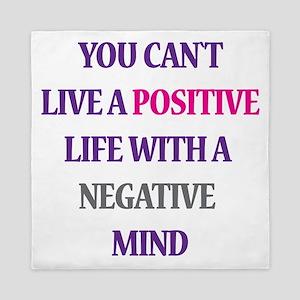 Positive life Queen Duvet