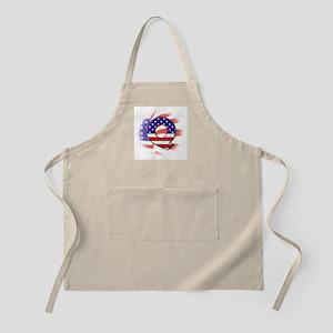 Flag Monogram Q BBQ Apron