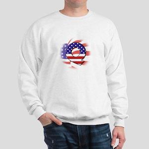 Flag Monogram Q Sweatshirt