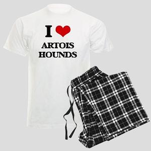 I love Artois Hounds Men's Light Pajamas