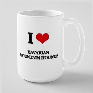I love Bavarian Mountain Hounds Mugs