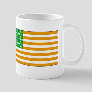 Irish American Flag 2 Mugs