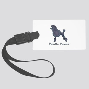 POODLE POWER Luggage Tag