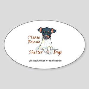 SHELTER DOGS Sticker