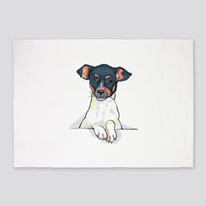 JACK RUSSELL 5'x7'Area Rug