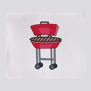 BBQ Grill Throw Blanket